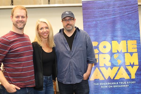 David Hein, Kelly Devine, and Christopher Ashley