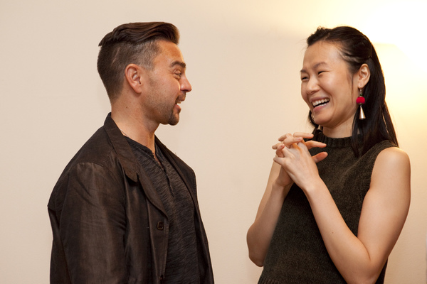 Jeremiah Maestas and Karoline Xu Photo