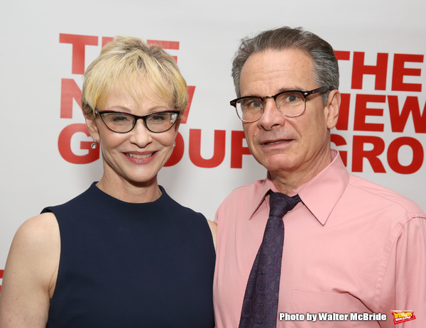 Tracy Shayne and Peter Scolari