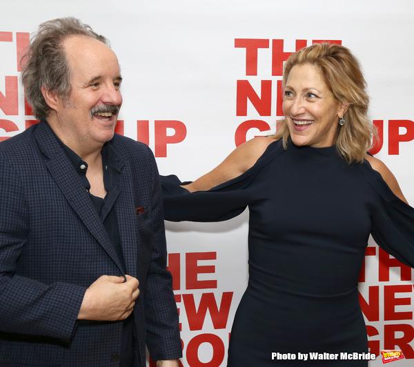 John Pankow and Edie Falco