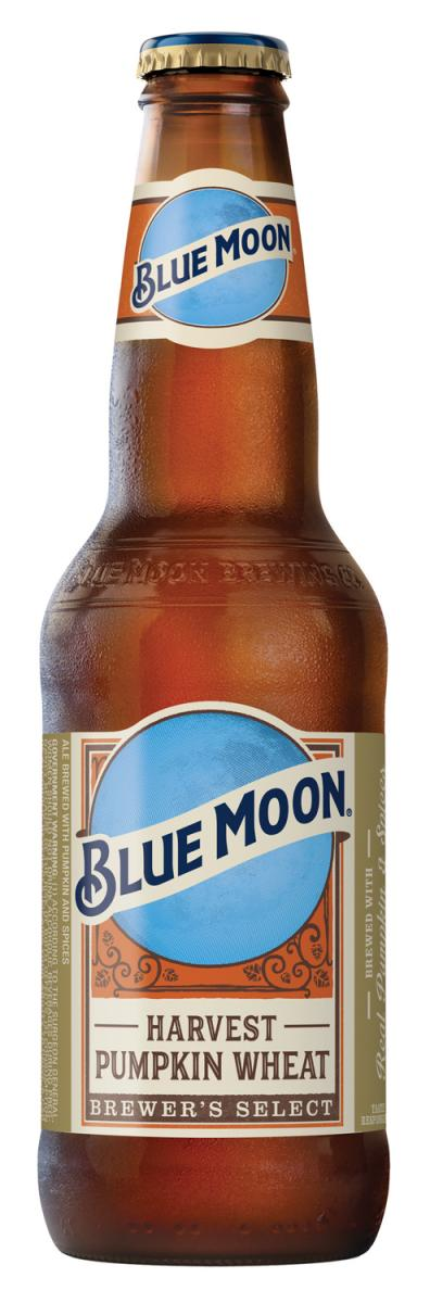 BLUE MOON HARVEST PUMPKIN WHEAT Arrives in Stores for the Autumn Season