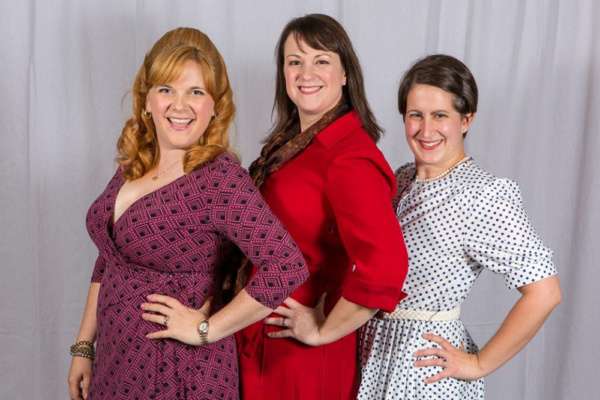 Doralee (Laura Mills), Violet (Jolene Vettese) , and Judy (Christine Laird)  Photo by Photo