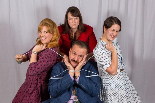 Doralee (Laura Mills), Violet (Jolene Vettese) , Judy (Christine Laird), and Franklin Photo