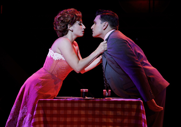 "Natalie Gallo as �""Mary Delgado"" and Aaron De Jesus as �""Frankie Valli"""