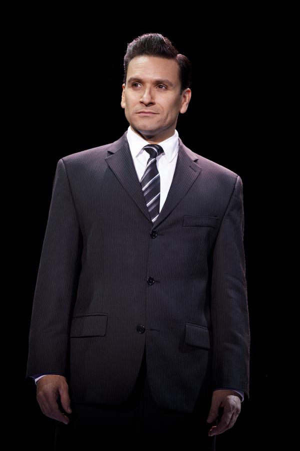 """Aaron De Jesus as """"Frankie Valli�"""