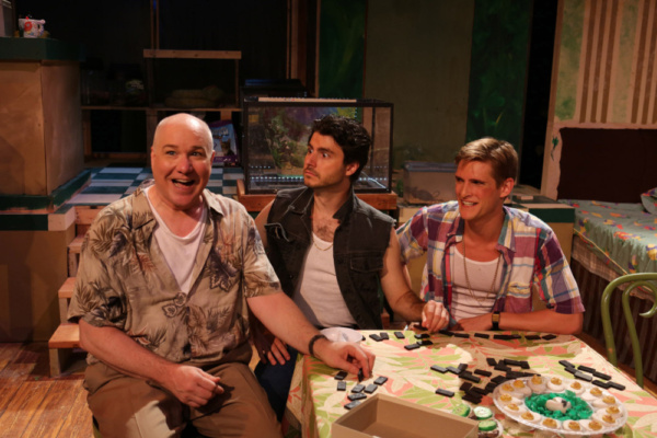 Ed Jones, David Lipschutz and Chazie Bly Photo