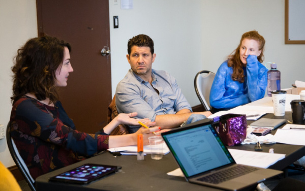 Photo Flash: In Rehearsal With ESCAPE at Fringe NYC