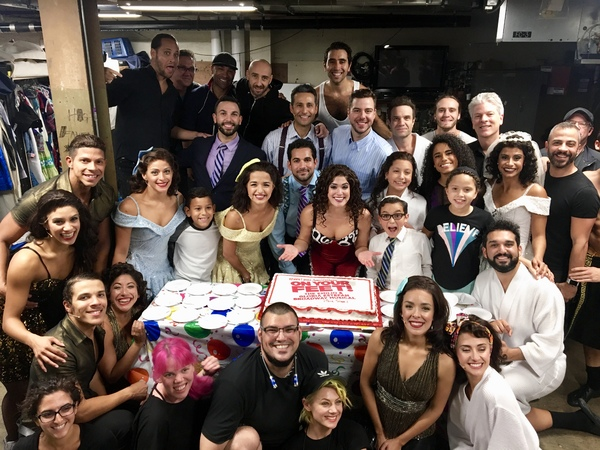 Photo Flash: ON YOUR FEET National Tour Celebrates One Year of Performances