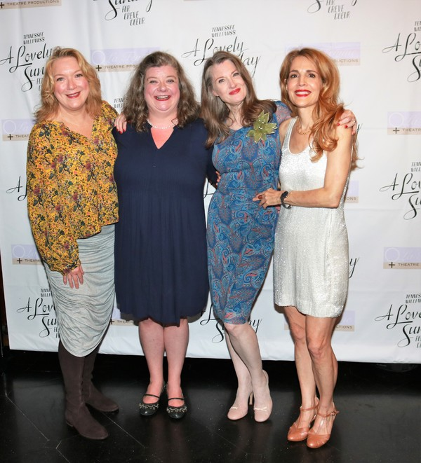 Kristine Nielson, Polly McKie, Annette O'Toole and Jean Lichty