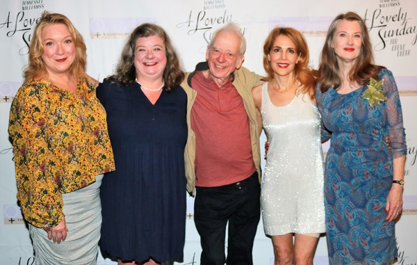 Kristine Nielson, Polly McKie, Austin Pendleton, Jean Lichty and Annette O'Toole