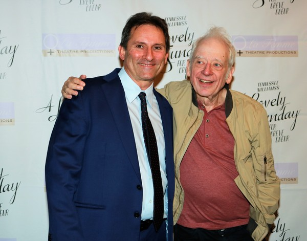 Jonathan Mann and Austin Pendleton