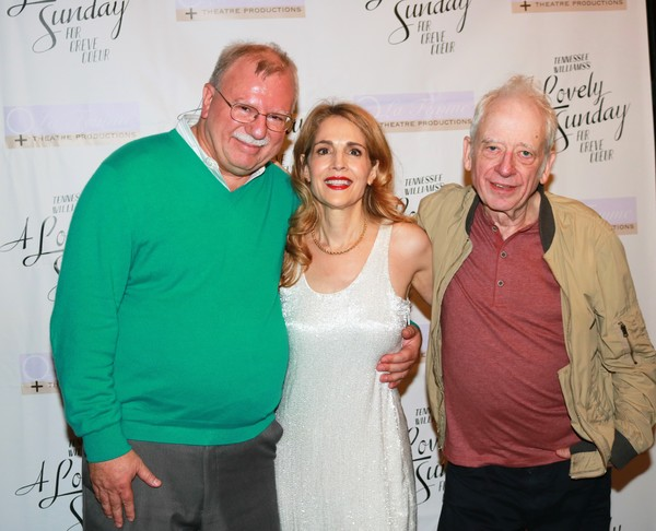 Robert Dohmen, Jean Lichty and Austin Pendleton Photo