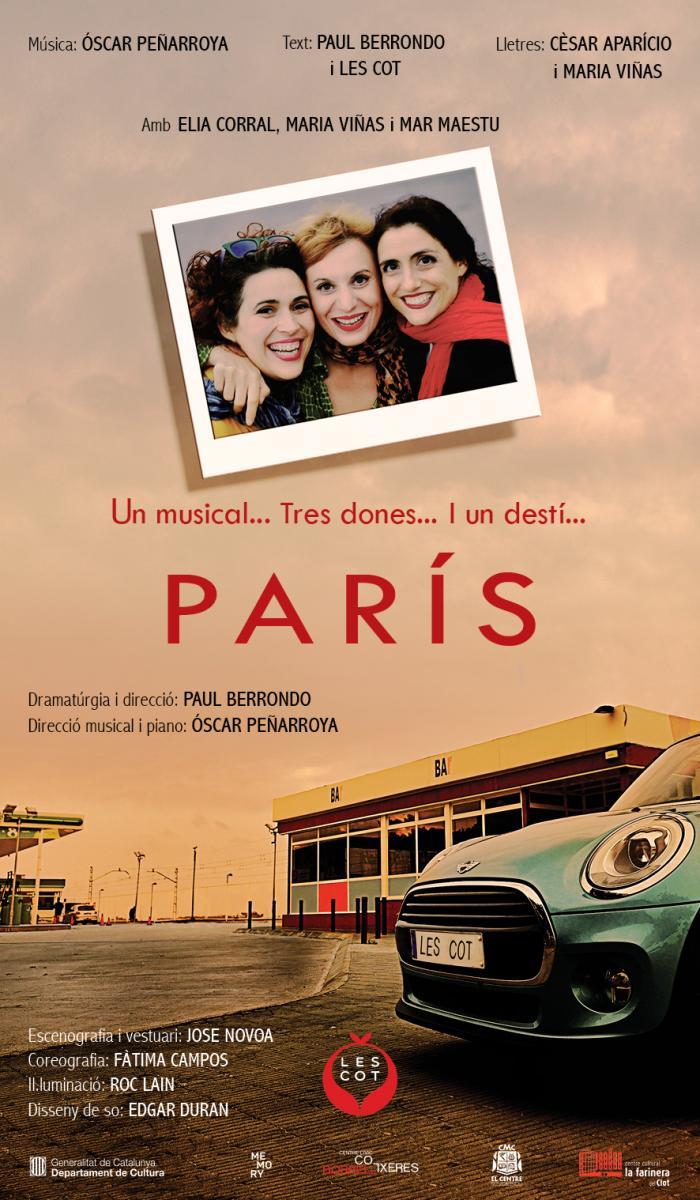 PARÍS llega al Almeria Teatre de la mano de Les Cot
