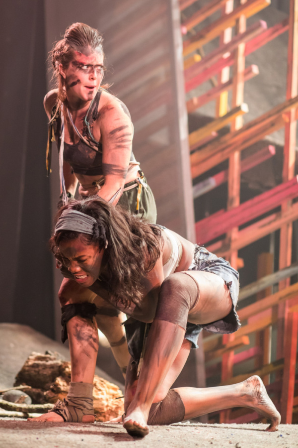Photo Flash: First Look At all Female LORD OF THE FLIES