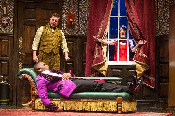 Photo Flash: Get A First Look at THE PLAY THAT GOES WRONG National Tour Cast In Action