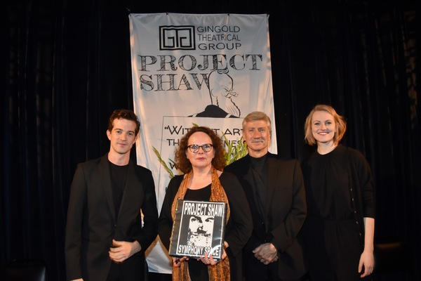 Tonight's Cast-A.J. Shively, Maryann Plunkett, David Garrison and Kerstin Anderson