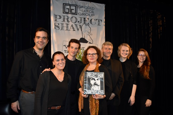 Stephen Brown Fried, A.J. Shively, Maryann Plunkett, David Garrison and Kerstin Anderson are joined by stage managers-Britini Serrano and Lindsay Warnick