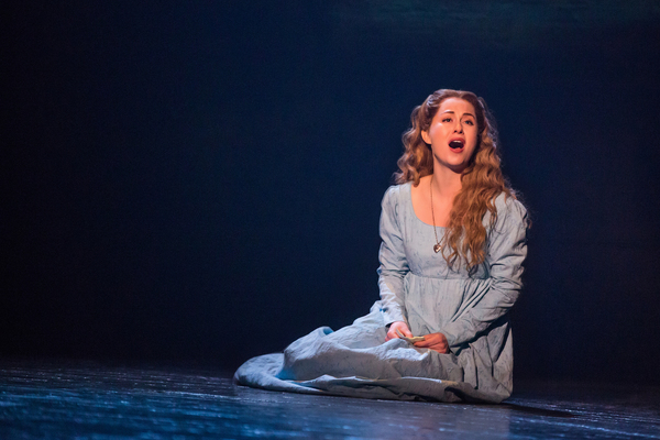 I Dreamed A Dream - Mary Kate Moore as Fantine in the new national tour of LES MISERABLES.  Photo by Matthew Murphy