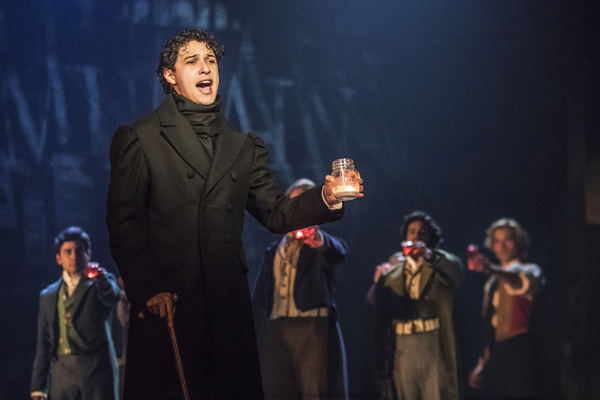 Empty Chairs at Empty Tables - Joshua Grosso as Marius in the new national tour of LE Photo