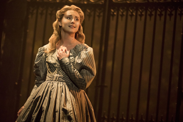 Jillian Butler as Cosette in the new national tour of LES MISERABLES.  Photo by Matthew Murphy