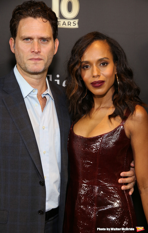 Steven Pasquale and Kerry Washington