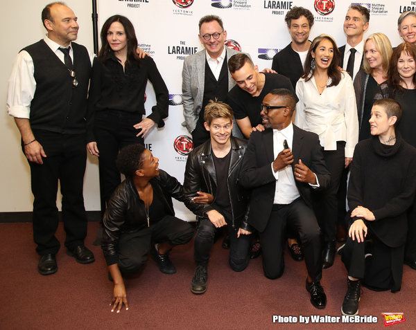 Danny Burstein, Mary Louise Parker, Samira Wiley, Andrew Keenan-Bolger, Michael Emerson, Adam Rippon, Billy Porter, Andy Paris, Purva Bedi, Asia Kate Dillon and cast