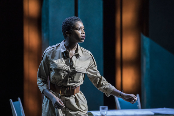 Photo Flash: First Look at Sophie Okonedo, Ralph Fiennes & Cast In ANTONY AND CLEOPATRA