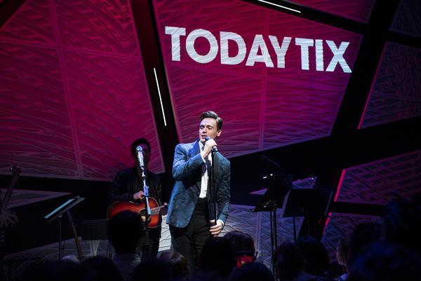 Photo Flash: GLEE Stars Darren Criss and Matthew Morrison Reunite at TodayTix Live!