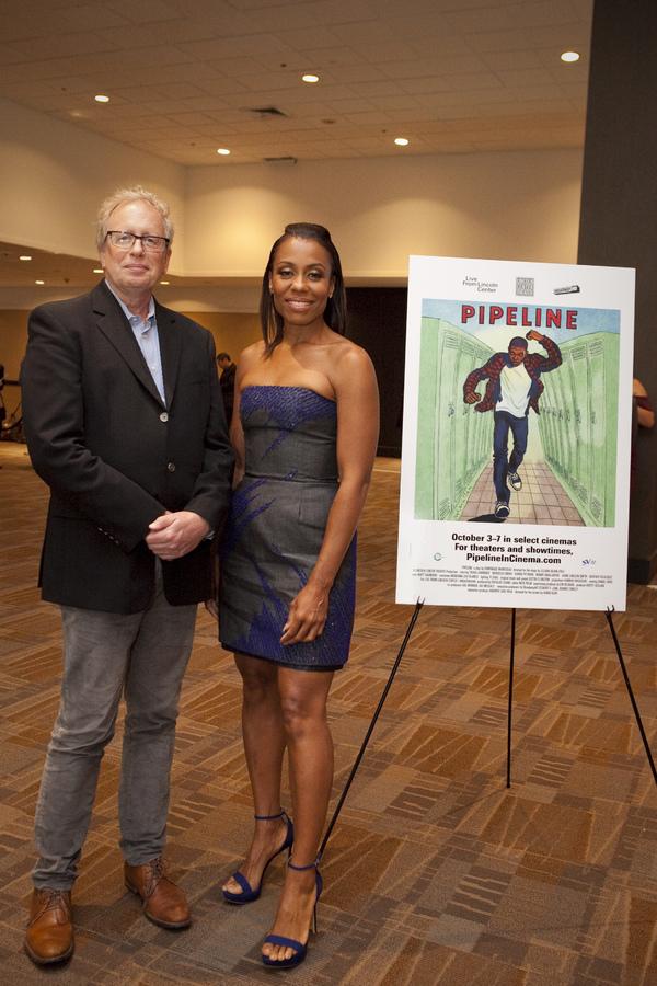 Andrew C. Wilk with leading lady Karen Pittman