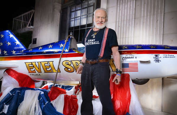 Photo Flash: Buzz Aldrin and Kelly Knievel Attend LA Film Festival Premiere of STUNTMAN