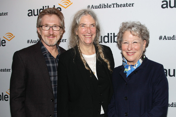 Don Katz (CEO; Audible), Patti Smith and Bette Midler
