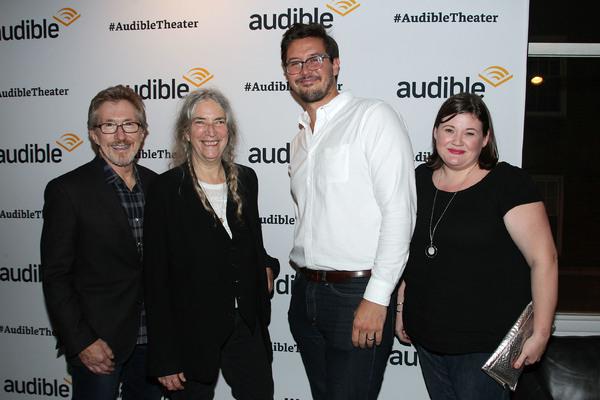Don Katz (CEO; Audible), Patti Smith, Preston Copley and Kate Navin