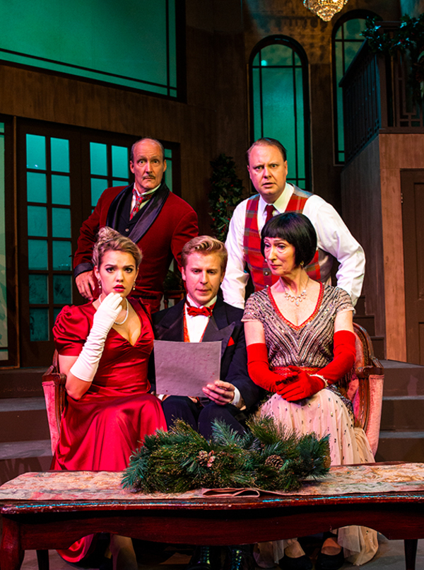 Photo Flash: The Theatre Group at SBCC Presents THE GAME'S AFOOT