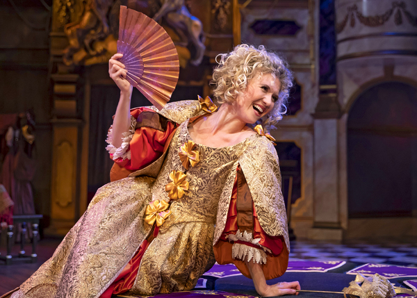 "Nell Gwynn (Scarlett Strallen), one of the first actresses to perform on the stages of London's burgeoning West End, captures the hearts of audiencesâ€""and the kingâ€""in Chicago Shakespeare's North American premiere production of Nell Gwynn"