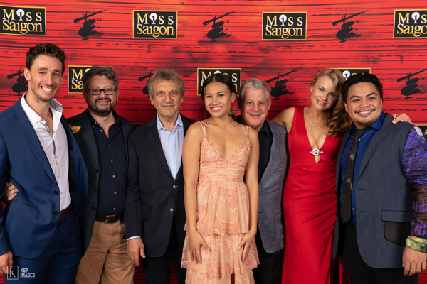 Anthony  Festa,  Laurence  Connor,  Alain  Boublil,  Emily  Bautista,  Cameron  Mackintosh,  Stacie  Bono,  Red  Concepción