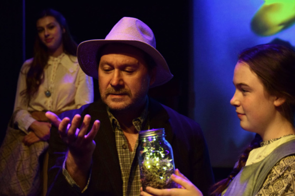 Photo Flash: First Look at FIRE IN A DARK HOUSE at Whitefire Theatre