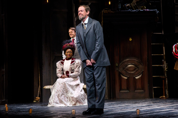 Photo Coverage: The Cast of BERNHARDT/HAMLET Takes its Opening Night Bows