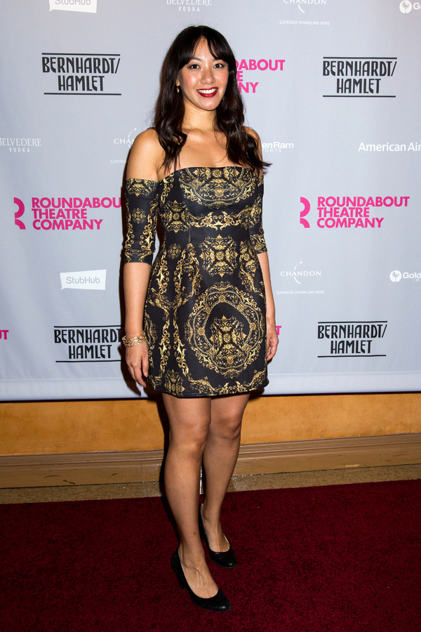 Photo Coverage: On the Red Carpet at Opening Night of BERNHARDT/HAMLET