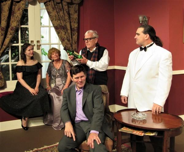 Ricci Mann, Beth Jepson, Warren Usey, David Jepson, Brian Olsen Photo