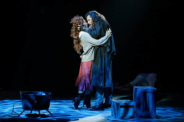 Diana DeGarmo (Lucy Harris) and Constantine Maroulis (Edward Hyde) Photo