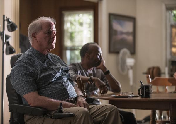 Francis Guinan (Fred) and K. Todd Freeman (Dee)
