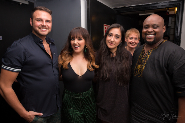 Brad Greer, Rachel Potter, Krystina Alabado, Liz Callaway, Major Attaway,  Photo
