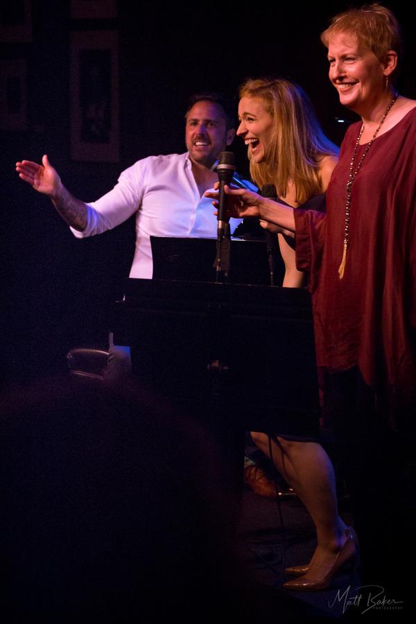 Photo Flash: Scott Alan and Broadway Stars Take Over Birdland