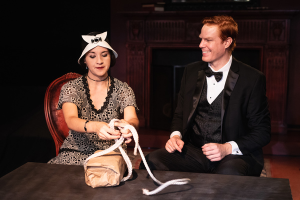 L to R: Heidi Palomino, Kyle Anderson