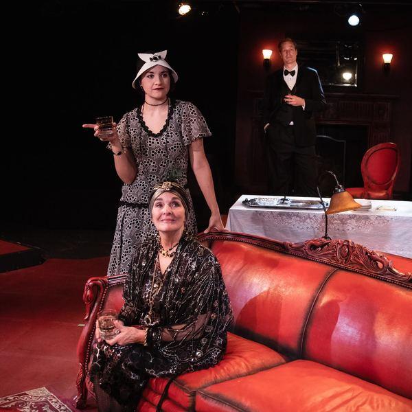 L to R: Heidi Palomino, Elizabeth Herron, Kyle Anderson  Photo