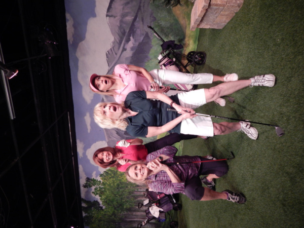 Photo Flash: First Look at Pigs Do Fly Productions' THE LADIES FOURSOME At Empire Stage