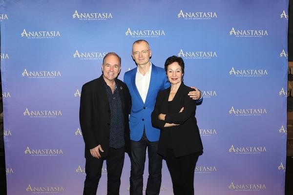 Stephen Flaherty, Darko Tresnjak, and Lynn Aherns Photo