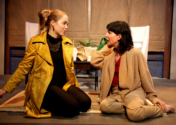Krystyna Ahlers as Woman and Jacqueline Wright as Juliana in the regional premiere of Photo