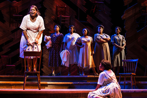 Carrie  Compere and  The Company of  The  Color  Purple Photo