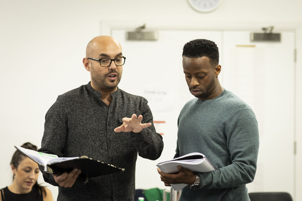 Photo Flash: In Rehearsal with A GUIDE FOR THE HOMESICK at Trafalgar Studios